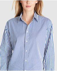Polo Ralph Lauren | Blue Striped Shirt | Lyst
