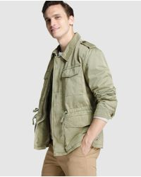 Tommy Hilfiger | Natural Beige Parka With Four Pockets for Men | Lyst