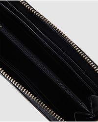 El Corte Inglés Wo Large Black Wallet With Zip