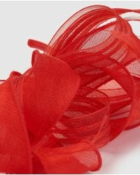 El Corte Inglés Red Bow Fascinator With Hairband