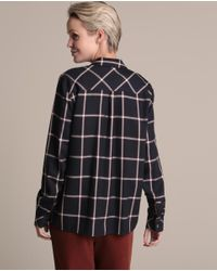 Woman El Corte Inglés Multicolor Woman Weekend Checked Shirt With Two Pockets