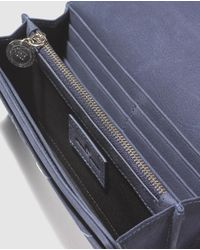 Gloria Ortiz - Midnight Blue Wallet With Space For 12 Cards - Lyst