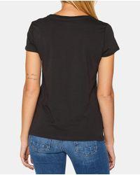 Camiseta De Mujer En Color Antracita Esprit de color Gray