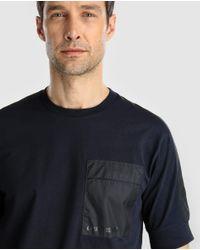 Armani Exchange - Blue Short Sleeved T-shirt for Men - Lyst