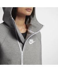 Nike Gray Tech Fleece Sportswear Sweatshirt