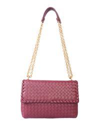 Bottega Veneta Multicolor Small Olimpia Leather Bag