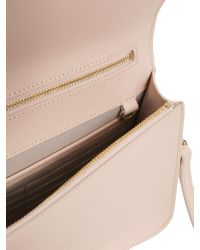 Lancaster - Multicolor Adeline Saffiano Leather Messenger - Lyst