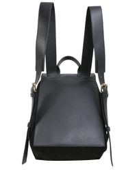 J.W. Anderson - Black Mini Pierce Leather Backpack - Lyst