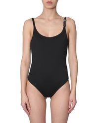 Moschino Black Swimsuit With Logo