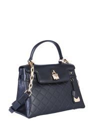 MICHAEL Michael Kors Black Medium Gramercy Leather Bag