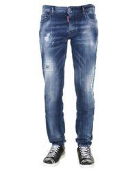 DSquared² Blue Slim Fit Jeans for men