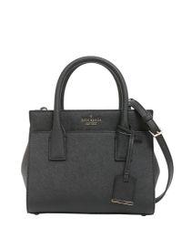 Kate Spade - Black Cameron Street Mini Candace Leather Bag - Lyst