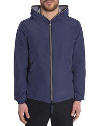 Duvetica | Blue Full Zip Pegaso Sports Jacket for Men | Lyst