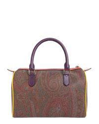 Etro Multicolor Paisley Handbag
