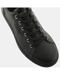 Dolce & Gabbana - Black Ab295 Leather London Sneaker for Men - Lyst