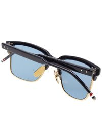 Thom Browne Blue Tb-709 Sunglasses for men