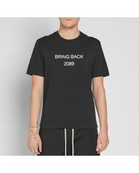 Undercover - Black Bring Back 2089 Tee for Men - Lyst