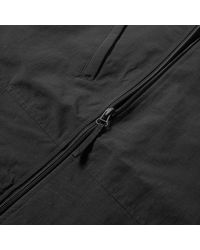 Fred Perry Black Fred Perry Packaway Hooded Jacket for men