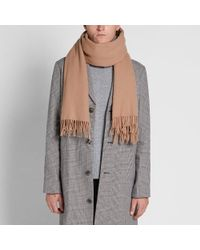Acne Brown Canada Scarf for men