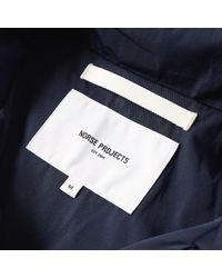 Norse Projects Blue Skipper Double Dyed Jacket for men