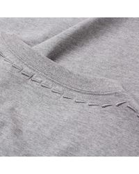 COACH Gray Rexy Patch Tee for men