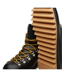 Fracap Black M120 Ripple Sole Scarponcino Boot