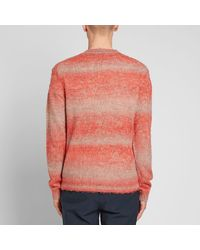 Acne Red Kamal Summer Povera Knit for men