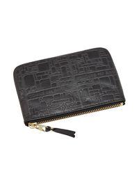 Comme des Garçons Black Comme Des Garcons Sa8100el Embossed Logotype Wallet