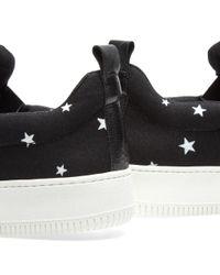 Uniform Experiment Black Star Slip On Sneaker for men