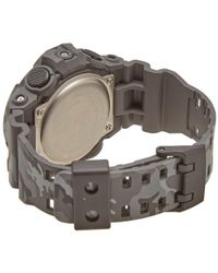 G-Shock - Black Casio Ga-700cm-8aer Camo Watch for Men - Lyst