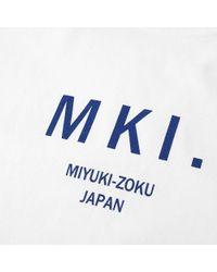 MKI Miyuki-Zoku White Logo Tee for men