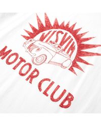 Visvim White Vintage Motorclub Tee for men