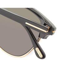 Tom Ford Black Tom Ford Ft0248 Henry Sunglasses for men
