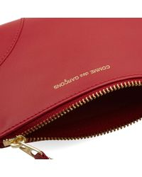 Comme des Garçons Red Comme Des Garcons Sa8100 Classic Wallet