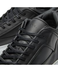 ETQ Amsterdam Black Etq. Mid Top 2 Sneaker for men