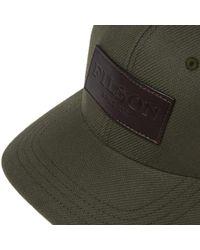 Filson Green Logger Cap for men