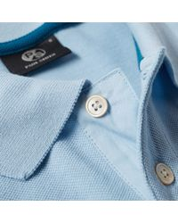Paul Smith - Blue Regular Fit Zebra Polo for Men - Lyst