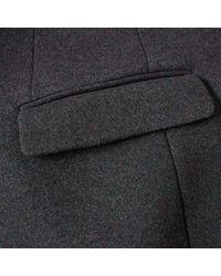 Acne Gray Gavin Coat for men