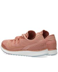 Saucony Pink Freedom Iso Ls for men