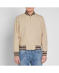 Levi's Natural Levi's Vintage Clothing Casuals Bomber Jacket for men