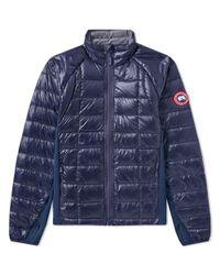Canada Goose Blue Hybridge Lite Jacket for men