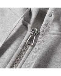 Sunspel - Gray Loopback Zip Hoody for Men - Lyst