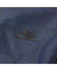 Nike Blue Tech Gymsack for men