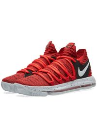 Nike Zoom Kd10 in Red for Men - Lyst f17922bb8