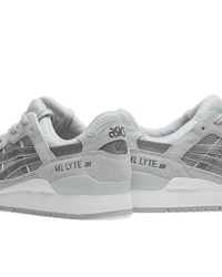 Asics Gray Gel Lyte Iii 'reflective' for men