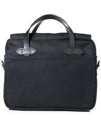 Filson Black Original Briefcase for men