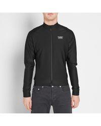 Pas Normal Studios Black Long Sleeve Winter Jersey for men
