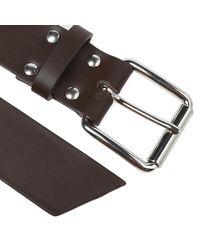 Comme des Garçons Brown Comme Des Garcons Shirt Plain Belt for men