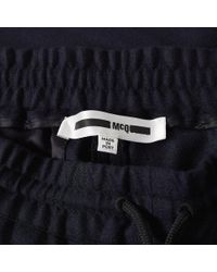 McQ Alexander McQueen Blue Mcq By Alexander Mcqueen Tailored Track Pant for men