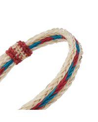 Chamula - Multicolor Braided Horsehair Bracelet - Lyst